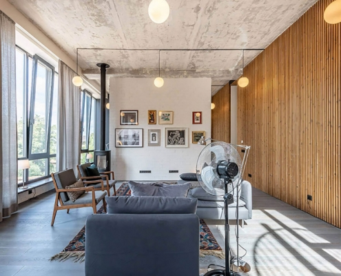 چوب در دکوراسیون داخلی منزل