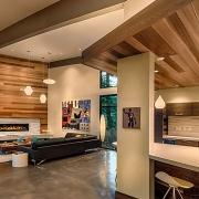 دکوراسیون مدرن خانه با چوب