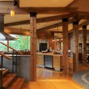 کاربرد های چوب در معماری